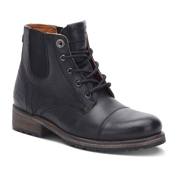 Melting - Bottines en cuir - noir