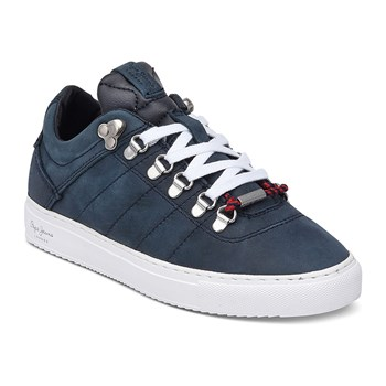 Marion T. color - Sneakers in pelle - blu slavato
