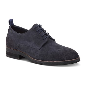 Hackney - Derby in pelle - blu scuro