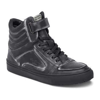 Norwich helmet - Sneakers in pelle - nero