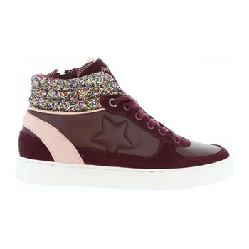 Montreal boot girls - Sneakers in pelle - bordeaux
