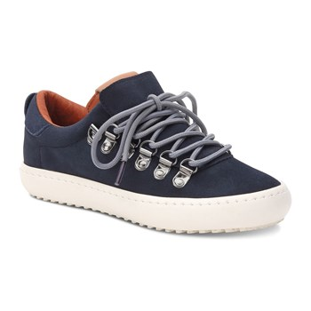 Whistle Low - Sneakers in pelle scamosciata - blu