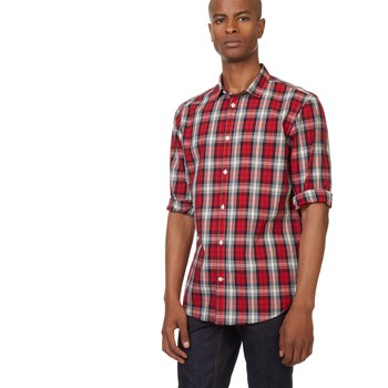Chemise casual - rouge