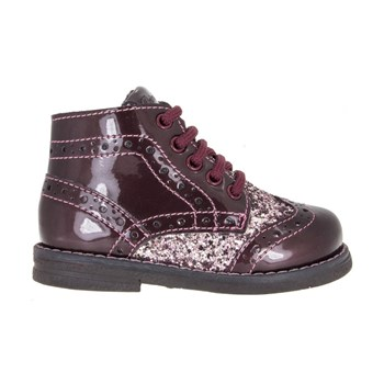 Ariosto - Bottines en cuir - bordeaux