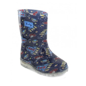 Spacy Kid Flash - Bottes - bleu marine