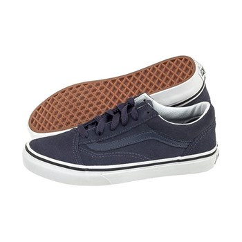 Baskets en cuir - denim bleu