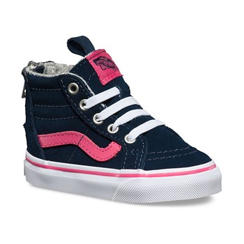 Sneakers in pelle - blu scuro