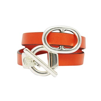 Doli - Bracelet en cuir - orange