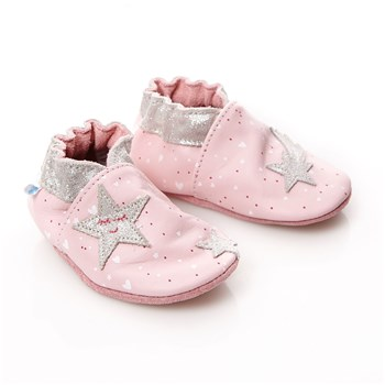 Night Star - Chaussons en cuir - rose clair