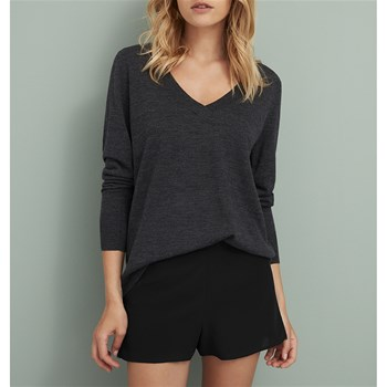 Extra 287 - Pull en laine - anthracite