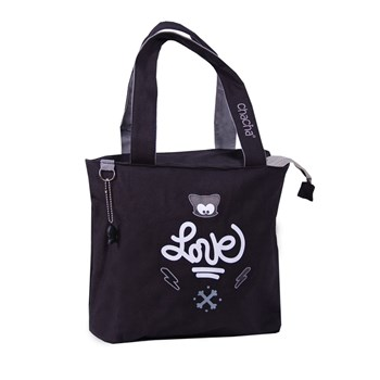 Love - Sac shopping - noir