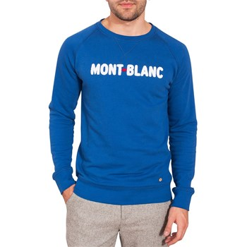 Mont blanc - Sweat-shirt - bleu