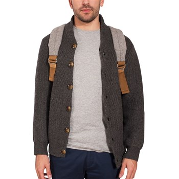 Sweatshawl - Cardigan - gris