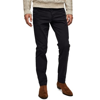 Pantalon slim-fit - bleu marine
