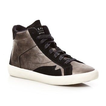 Vera Bootie - High Sneakers - anthrazit