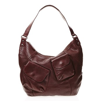 Mrs Ficher - Shopping bag - bordeaux