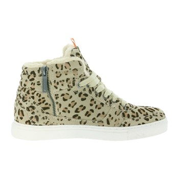 Montreal leopard - Sneakers in pelle - stampato