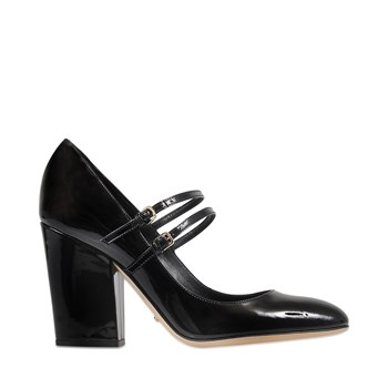 Betty - Escarpins en cuir - noir