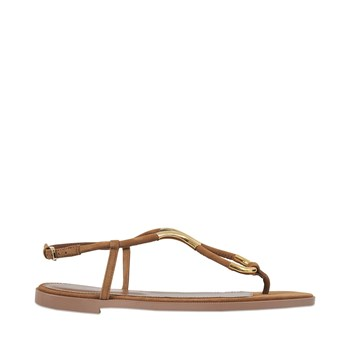 Twist - Sandales en cuir - marron