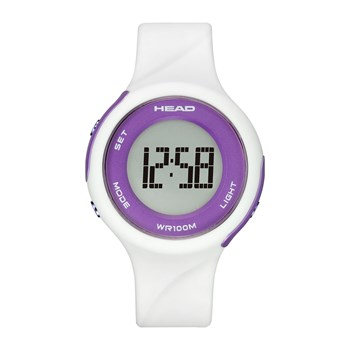 Head - Volley - Digitaal horloge - wit