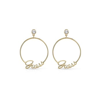 Hoops - Pendants - doré