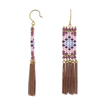 Indian Summer - Boucles d'oreille pendantes - multicolore