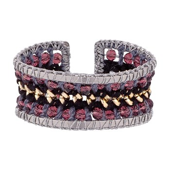 Indian Summer - Bracelet jonc - multicolore