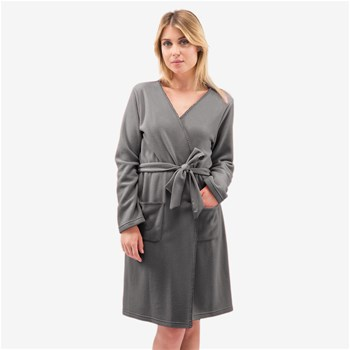 Softy - Peignoir - gris