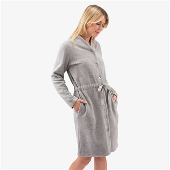 Softy - Peignoir - gris chine