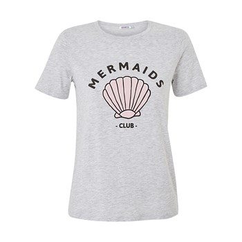 Coliz Mermaidiz - T-shirt manches courtes - gris chine