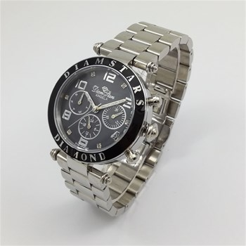 Diamstars - Angela - Reloj con diamantes - plateado