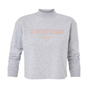 Undiz - Coudiz Enflemiz - Sweat-shirt - gris chiné