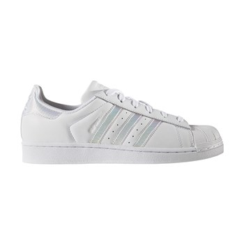 SUPERSTAR - Baskets en cuir mélangé - blanc