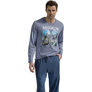 Brooklyn - Pyjama long - gris