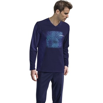 Eco - Pyjama long - bleu marine