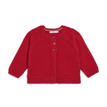 Cardigan fantaisie - rouge