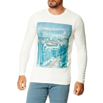 Stack - T-shirt manches longues - blanc