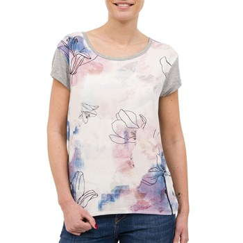 Tracy - T-shirt manches courtes - gris chine