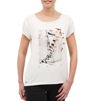 Tracy - T-shirt manches courtes - blanc