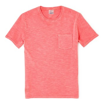 Topic - T-shirt manches courtes - corail