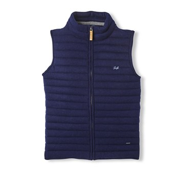 Brunch - Gilet court - bleu marine