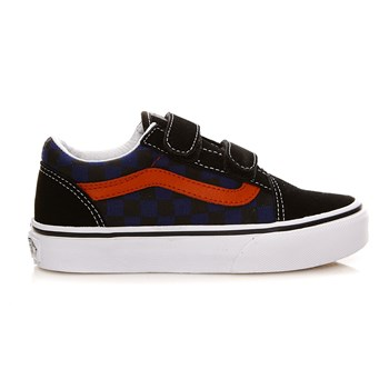 UY Old Skool V - Baskets en cuir - noir