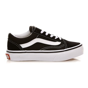 Vans - UY Old Skool - Baskets en cuir - noir
