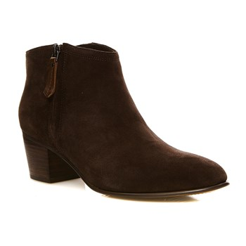 Maypearl Alice Dark Brown Sued - Bottines en cuir - brun