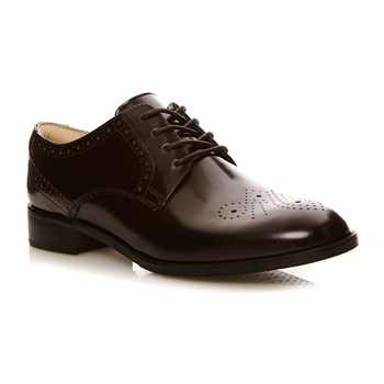 Netley Rose Burgundy Patent - Derbies en cuir - bordeaux