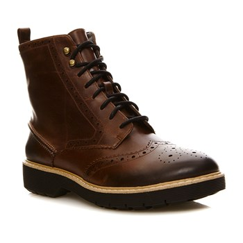 Witcombe Flo Dark Tan Lea - Bottines en cuir - bronzage