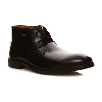 Chilver Hi GTX Black Leather - Bottines en cuir - denim noir