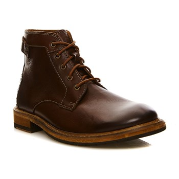 Clarkdale Bud Mahogany Leather - Bottines en cuir - acajou