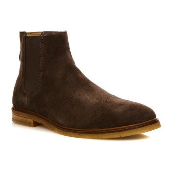 Clarkdale Gobi Dark Brown Sued - Bottines - brun