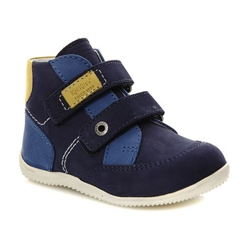Bartino - High Sneakers aus Leder - marineblau